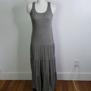 CAbi Resort Tiered Maxi Dress, Size small
